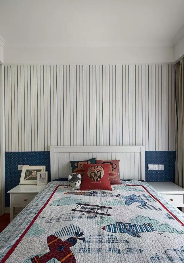 卧室图片来自实创装饰上海公司在89平现代美式家的分享