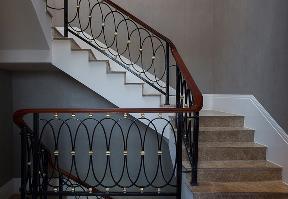 欧式 别墅 三居 白领 80后 楼梯图片来自北京今朝装饰-慧琳在清缘东里249平欧式的分享