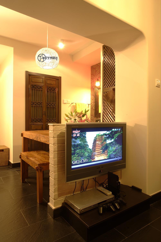 简约 混搭 白领 收纳 旧房改造 80后 小资 客厅图片来自厅宇设计在30平的东南亚演绎—厅宇设计出品的分享