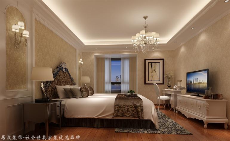 卧室图片来自昆明居众装饰设计工程有限公司在金江小区-欧式风格-187㎡的分享