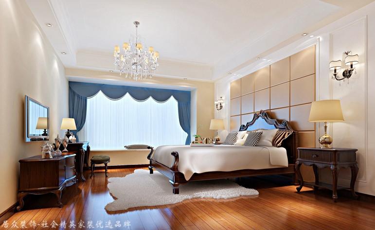 中式 四居 白领 卧室图片来自杭州居众装饰集团设计院在郁金香岸-中式风格-290平的分享