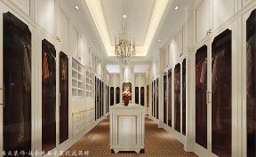 新古典 别墅 衣帽间图片来自杭州居众装饰集团设计院在白马山庄-新古典风格-460平的分享