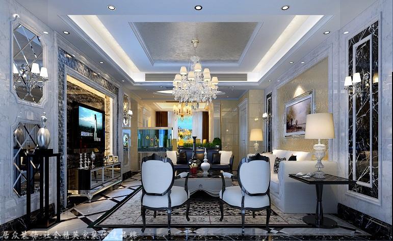 欧式 四居 80后 餐厅图片来自杭州居众装饰集团设计院在德信晓城-欧式风格-211平的分享