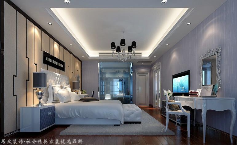 欧式 四居 80后 卧室图片来自杭州居众装饰集团设计院在德信晓城-欧式风格-211平的分享