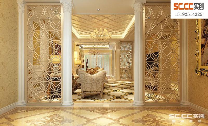 别墅 法式 三居 客厅图片来自快乐彩在龙湖悠山郡251平法式装修的分享