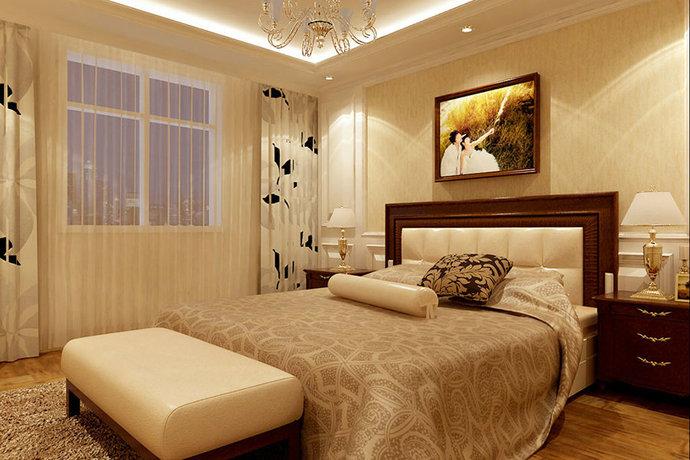 卧室图片来自武汉苹果装饰在苹果装饰-正堂山外山的分享