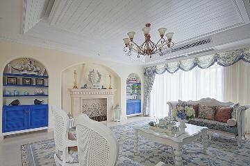 130平地中海三居室