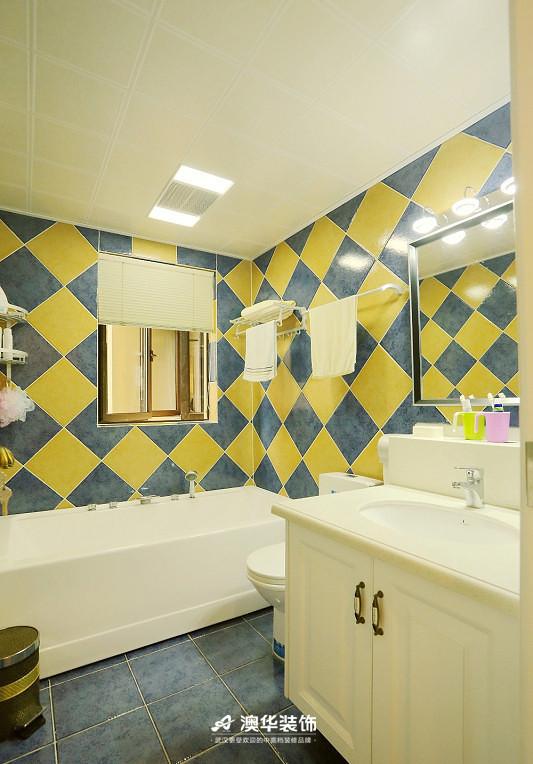 卫生间图片来自澳华装饰有限公司在楚天都市雅园·法式田园 高雅演绎的分享