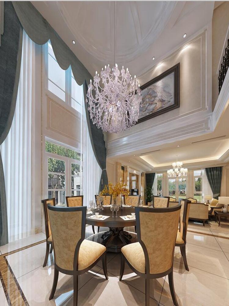 别墅 美式 奢华 餐厅图片来自tjsczs88在简美生活的分享