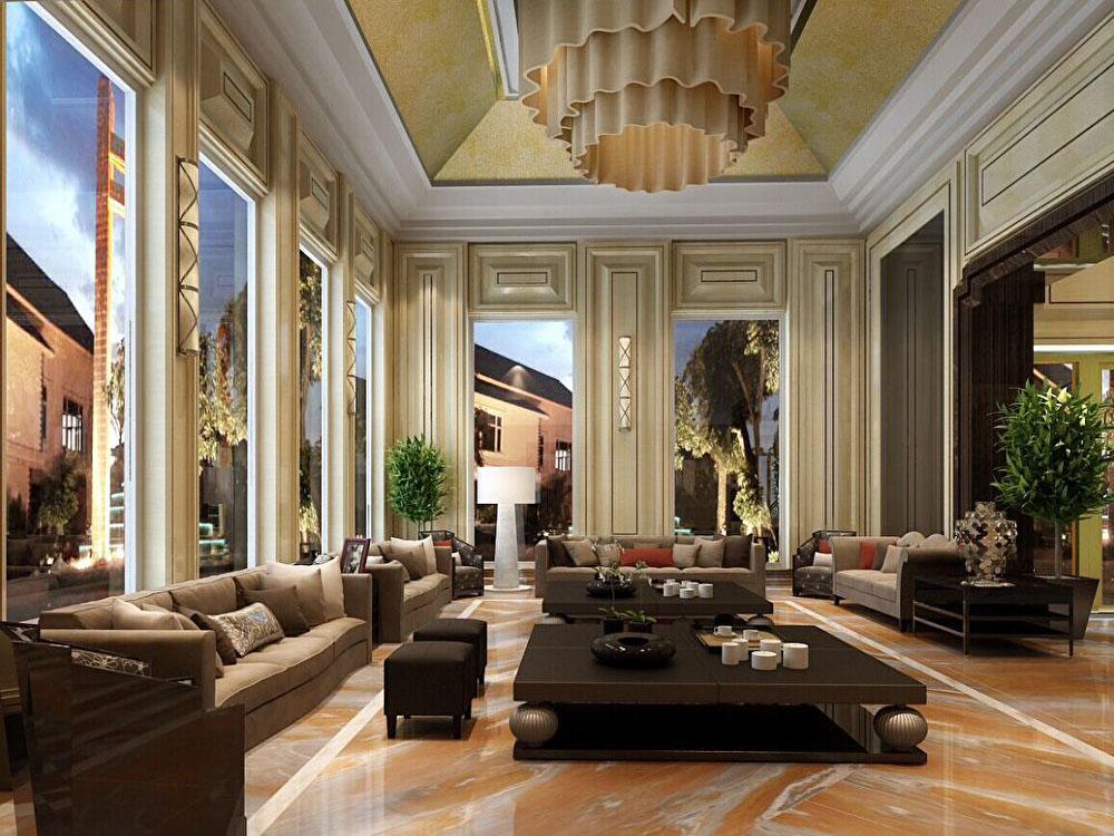 别墅 中式 时尚 客厅图片来自tjsczs88在新厅的分享