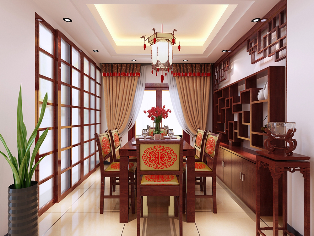 三居 中式 餐厅图片来自tjsczs88在国色天香,醉美中式的分享