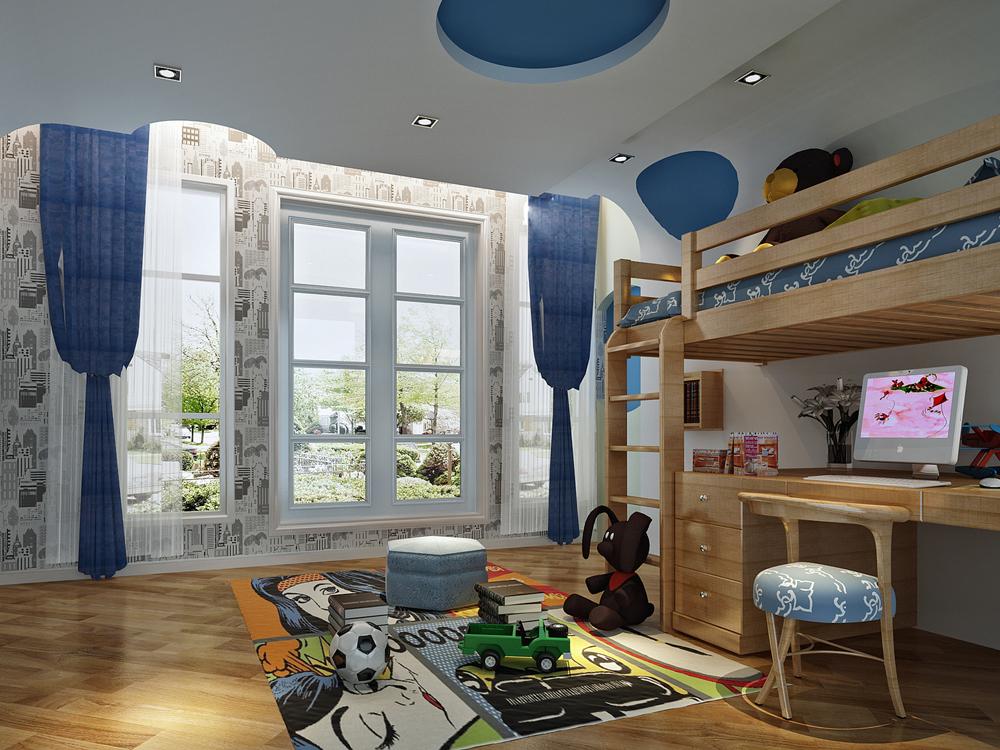 别墅 美式 奢华 儿童房图片来自tjsczs88在简美生活的分享