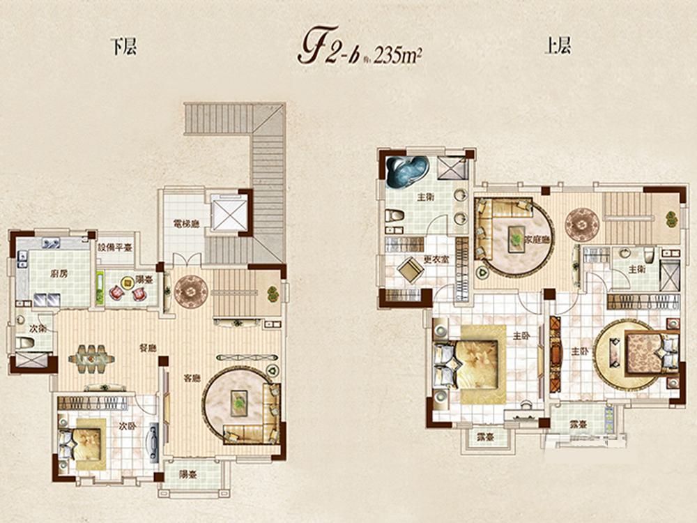 别墅 中式 时尚 户型图图片来自tjsczs88在新厅的分享