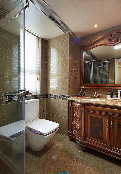 卫生间图片来自家装大管家在110平现代欧式3居 幸福生活起航的分享