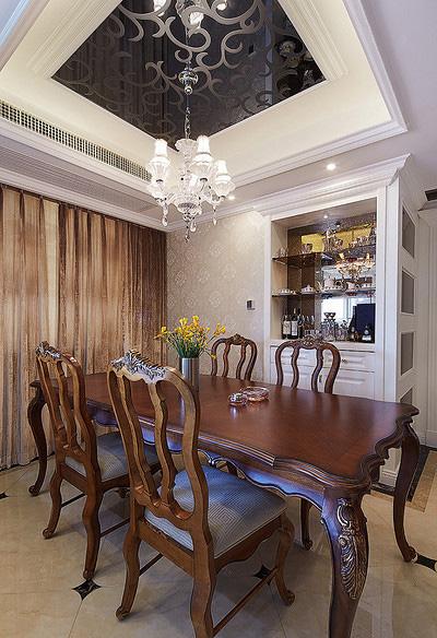 餐厅图片来自家装大管家在110平现代欧式3居 幸福生活起航的分享