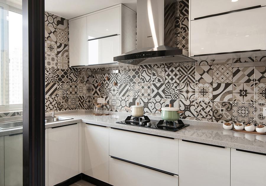 北欧 简约 二居 白领 收纳 旧房改造 80后 小资 厨房图片来自北京今朝装饰-慧琳在上地东里60平米北欧的分享