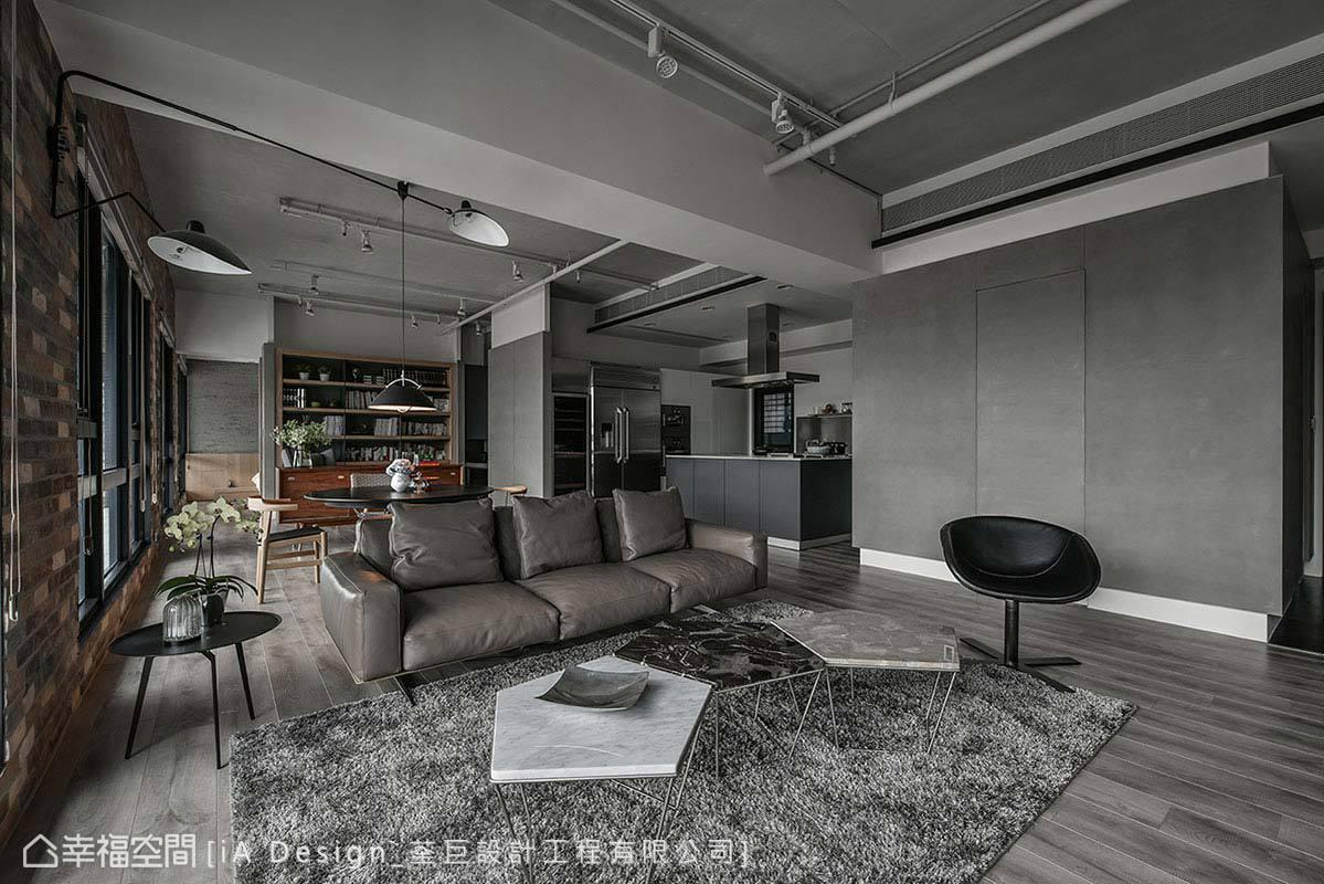现代 简约 二居 收纳 客厅图片来自幸福空间在Open house的分享