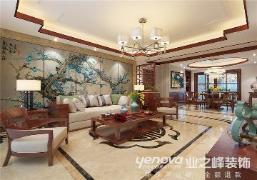 映月公馆珑台 150平 中式风格