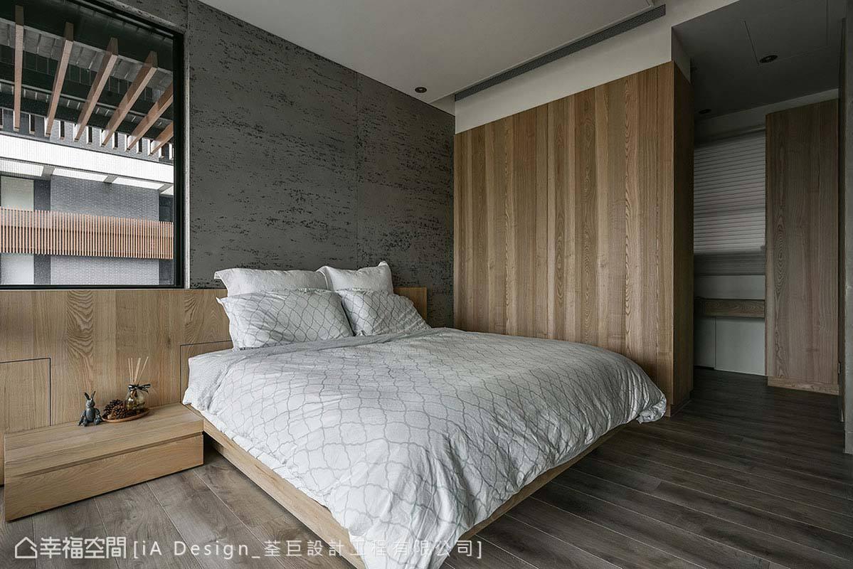 现代 简约 二居 收纳 卧室图片来自幸福空间在Open house的分享