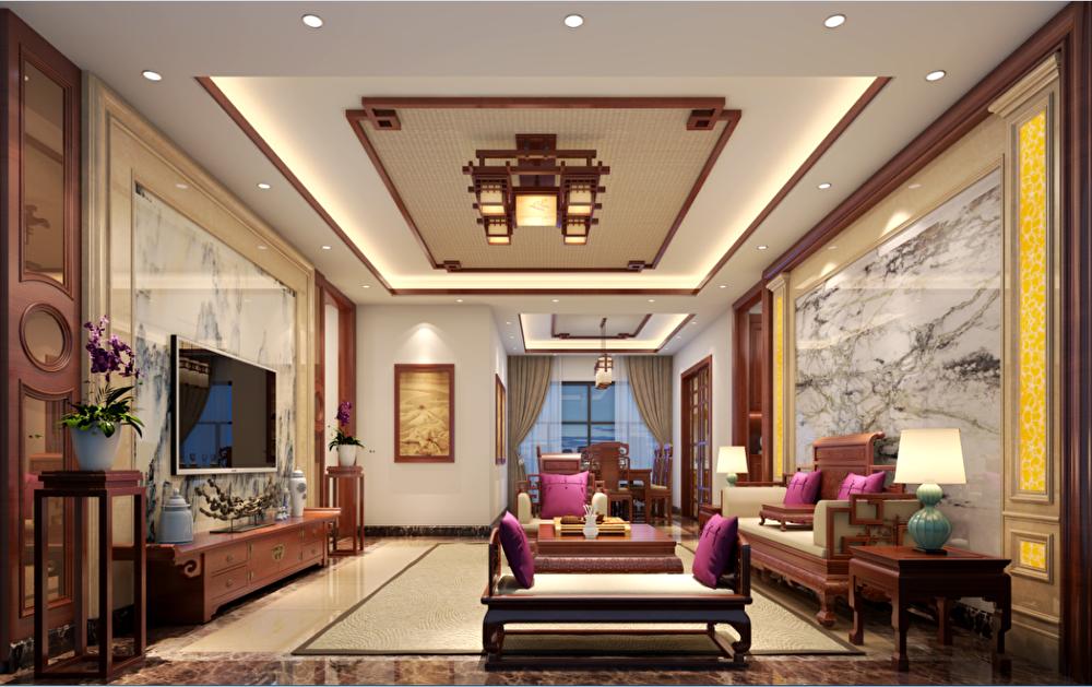 别墅 三居 客厅图片来自tjsczs88在中式奢华表现的分享