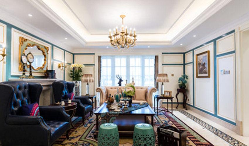 客厅图片来自武汉苹果装饰在苹果装饰 金地天悦的分享