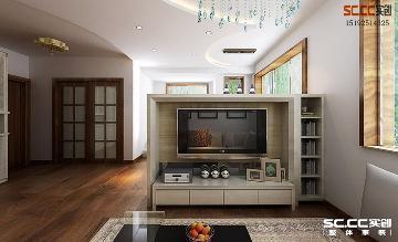 米罗湾106平现代简约两居室