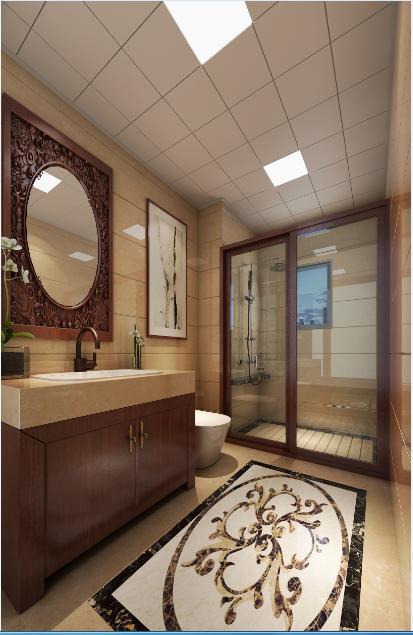 别墅 三居 卫生间图片来自tjsczs88在中式奢华表现的分享