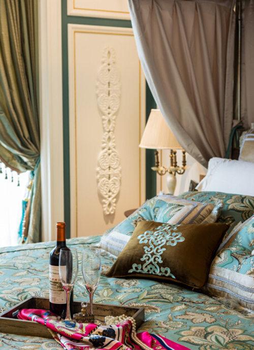 卧室图片来自武汉苹果装饰在苹果装饰 金地天悦的分享