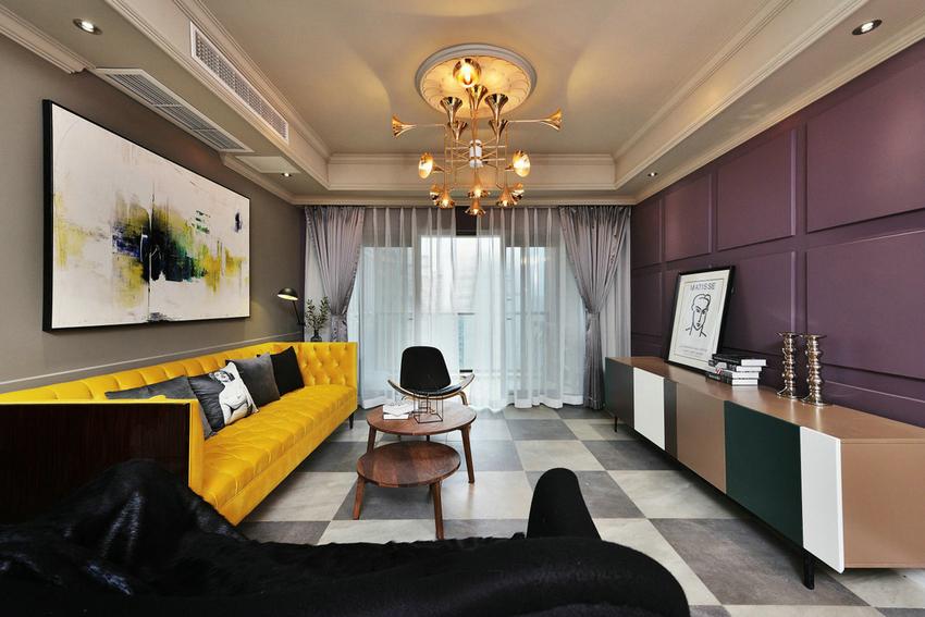 客厅图片来自武汉苹果装饰在苹果装饰 俪湖天地的分享