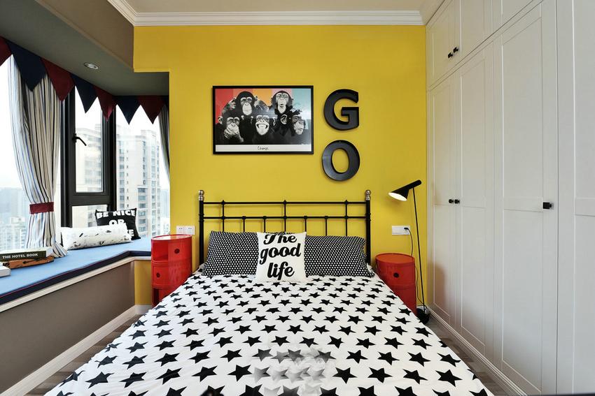 三居 混搭 卧室图片来自武汉苹果装饰在苹果装饰 俪湖天地的分享