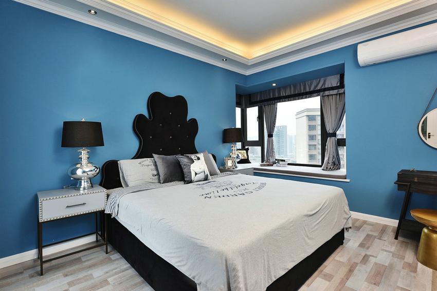 三居 混搭 小资 收纳 卧室图片来自武汉苹果装饰在苹果装饰 俪湖天地的分享