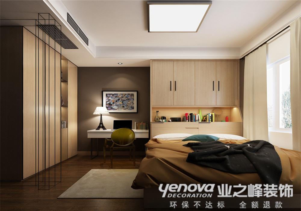 现代简约 别墅 卧室图片来自青岛业之峰官方客服--小万在浪琴海 240平 现代风格的分享