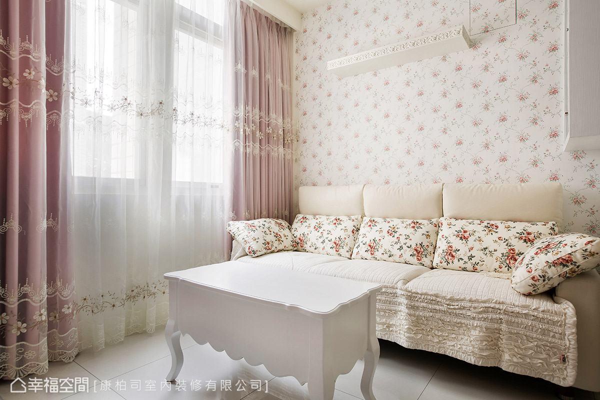 一居 乡村 收纳 田园 客厅图片来自幸福空间在美感机能兼具 微甜不腻乡村居的分享