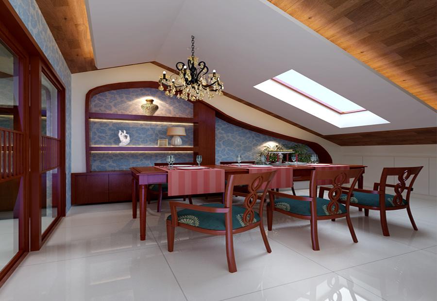 新中式 三居 别墅 收纳 旧房改造 80后 小资 白领 餐厅图片来自北京今朝装饰-慧琳在大兴区保利百合110平米中式的分享