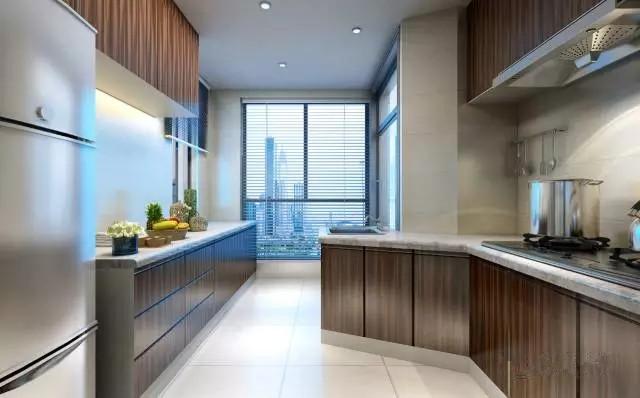 简约 中式 三居 厨房图片来自实创装饰上海公司在当现代邂逅中式的分享