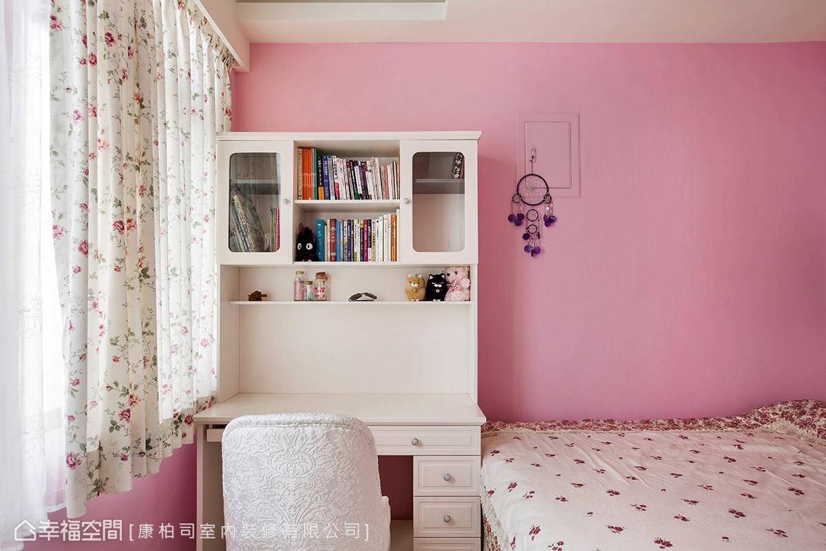一居 乡村 收纳 田园 卧室图片来自幸福空间在美感机能兼具 微甜不腻乡村居的分享