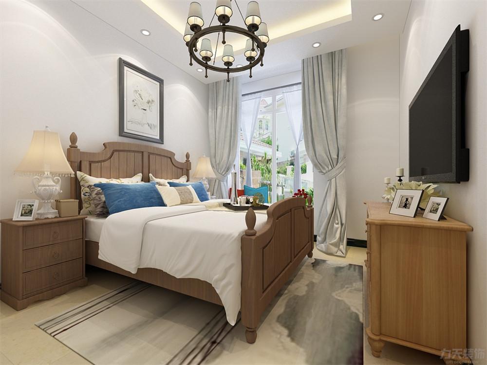 混搭 三居 收纳 小资 卧室图片来自阳光力天装饰在混搭风格-华侨城-137㎡的分享