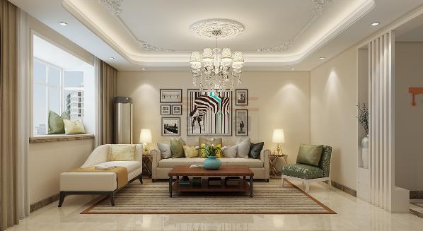 在设计要求上拒绝浮华的摆设和太过喧哗的装饰。营造一种通透的效果,使得整个居住空间得到扩大和延伸。