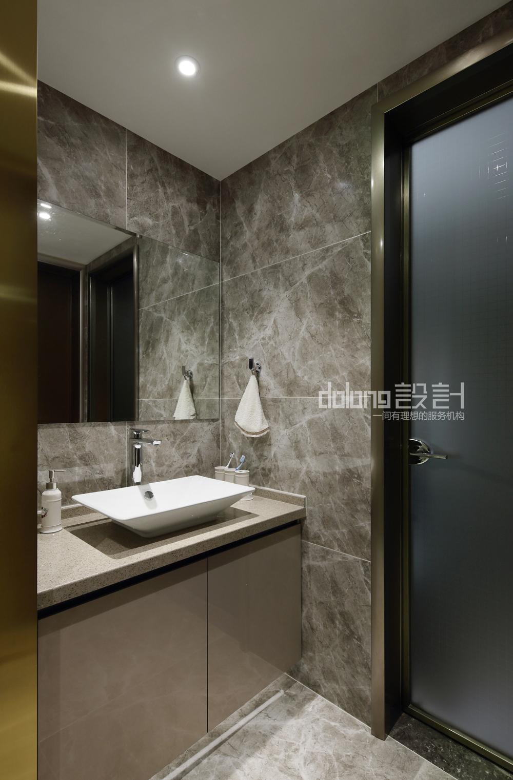 简约 卫生间图片来自DoLong董龙设计在自在之橙的分享
