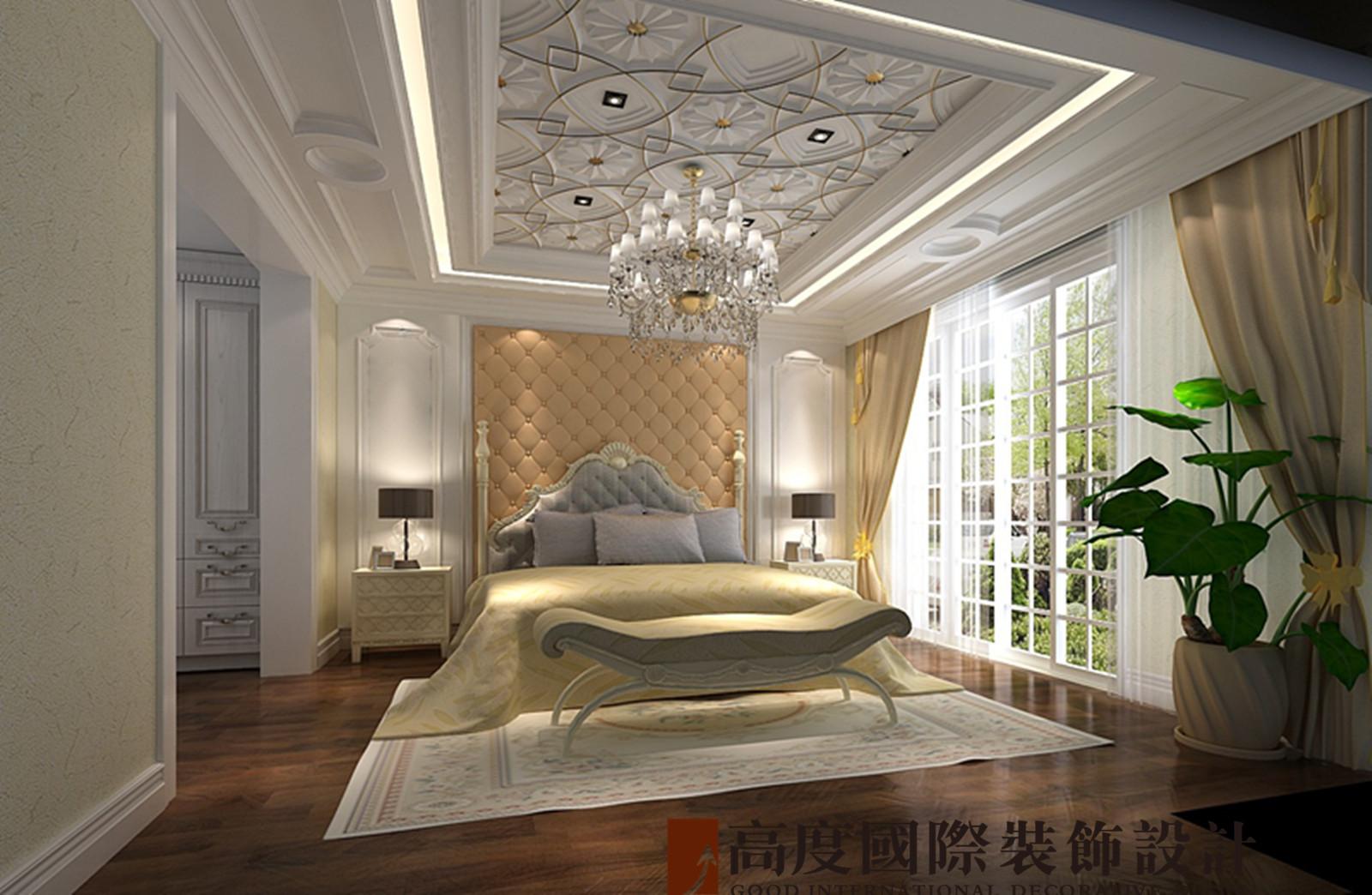 别墅 法式 联排 卧室图片来自高度国际装饰宋增会在龙湖长桥墅300平米法式的分享