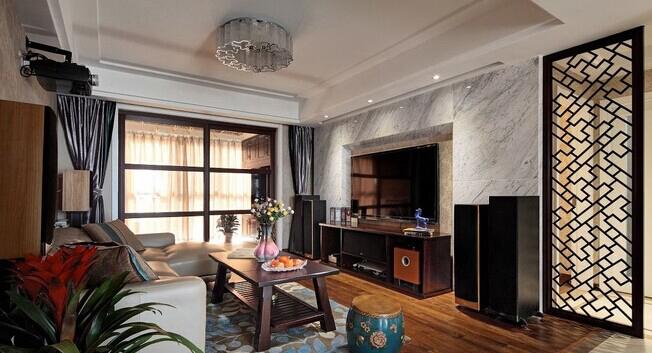 客厅图片来自武汉苹果装饰在苹果装饰 复地悦城的分享