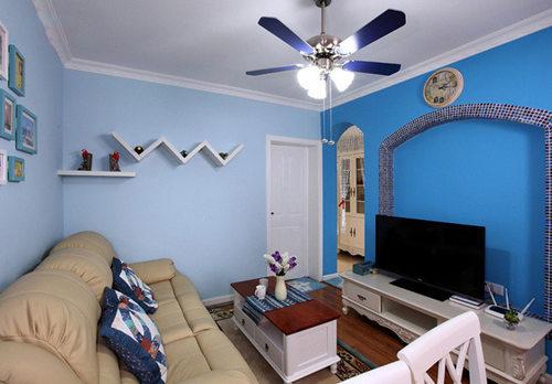客厅图片来自武汉苹果装饰在苹果装饰 华天明珠紫云府的分享