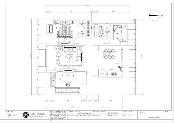 本次案例为保利香颂园三室一厅一厨一卫120平米,设计风格为中式风格。