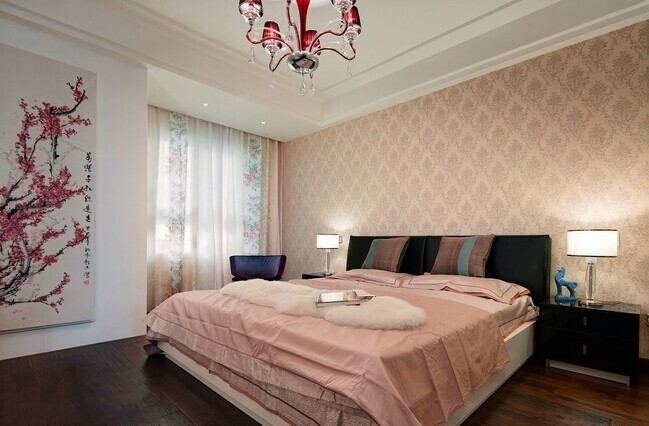卧室图片来自武汉苹果装饰在苹果装饰 复地悦城的分享
