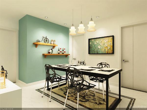 在家居配饰上均以低彩度色调和棉织品为主高彩度鲜花作为点缀,是整个空间沉闷中不乏活力。