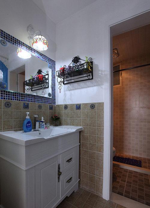 卫生间图片来自武汉苹果装饰在苹果装饰 华天明珠紫云府的分享