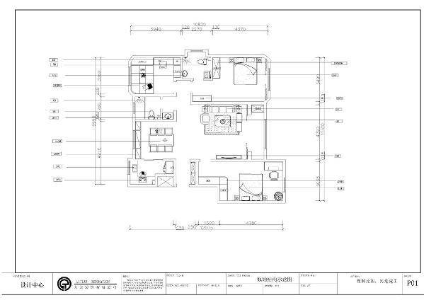 本案为津南金地意境三室一厅,一厨两卫130平米的户型。