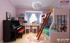 二居 地中海 实创 金光丽园 儿童房图片来自快乐彩在金光丽园地中海两居87㎡装修案例的分享