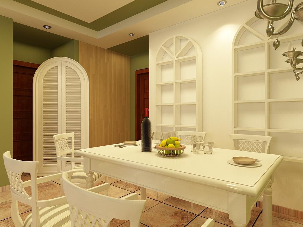 简约 三居 别墅 白领 收纳 餐厅图片来自石家庄阳光力天装饰在博雅盛世-90㎡-地中海的分享