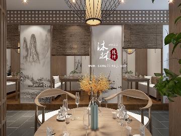 山西榆次中餐厅设计